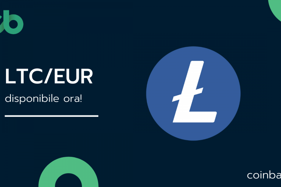 Litecoin è ora disponibile sull'exchange italiano Coinbar